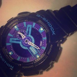 G shock resist wrist watch